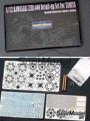 Hobby Design: Detail 1/12 scale - Kawasaki ZZR1400
