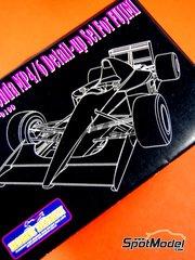 Hobby Design: Fotograbados escala 1/20 - McLaren Honda MP4/6 Marlboro Nº 1, 2 - Ayrton Senna (BR), Gerhard Berger (AT) - Campeonato del Mundo 1991 - para kit de Fujimi