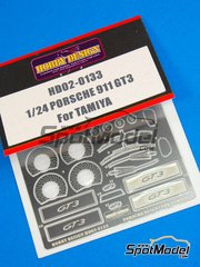 Hobby Design: Photo-etched parts 1/24 scale - Porsche 911 GT3 - for Tamiya kit