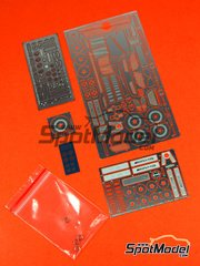 Hobby Design: Photo-etched parts 1/24 scale - Mercedes-Benz SLS AMG - for Revell kit REV07100