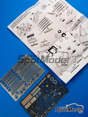 Hobby Design: Photo-etched parts 1/24 scale - Mini Cooper S Countryman - for Hasegawa reference 24121