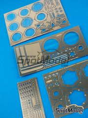 Hobby Design: Photo-etched parts 1/12 scale - Honda NSR500 1984 - for Tamiya reference TAM14121