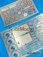 Hobby Design: Fotograbados escala 1/24 - Toyota Supra - para la referencia de Tamiya TAM24163