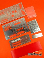 Hobby Design: Photo-etched parts 1/24 scale - Lancia 037 Rally - photo-etch, resins and metal parts - for Hasegawa kits 20264 and 25030