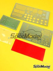 Hobby Design: Photo-etched parts 1/24 scale - Lancia Stratos HF - Safari Rally 1977 - for Hasegawa reference 25036 image