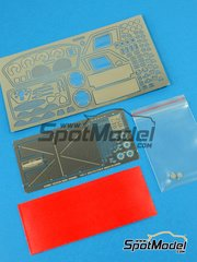 Hobby Design: Photo-etched parts 1/24 scale - Ferrari 250 GTO - resins and photo-etched parts - for Revell kit REV07077 image