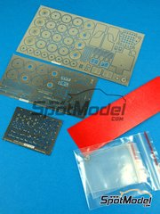 Hobby Design: Photo-etched parts 1/24 scale - Toyota Celica GT-Four ST165 - resins, photo-etched parts and metal parts - for Beemax Model Kits kits B24001 and B24002 image