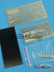 Hobby Design: Photo-etched parts 1/24 scale - Toyota Celica GT-S - photo-etched parts, resins, fabric - for Tamiya reference TAM24215
