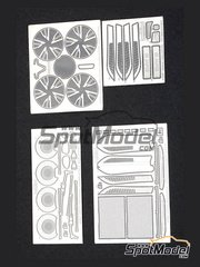 Hobby Design: Photo-etched parts 1/24 scale - BMW i8 - for Revell reference REV07008