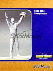 Hobby Design: Figure 1/20 scale - Michael Schumacher Figure