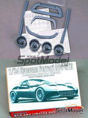 Hobby Design: Transkit 1/24 scale - Hamann Ferrari 599 GTB - resins and photo-etched parts - for Fujimi reference FJ122779