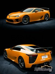 Hobby Design: Transkit 1/24 scale - Lexus LFA Nurburgring edition - for Tamiya kit TAM24319