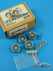 Hobby Design: Rims 1/24 scale - 18 inches Enkei RS05RR - resins and metal pieces - 4 units image