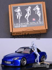 Hobby Design: Figure 1/24 scale - Show girl