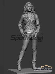 Hobby Design: Figure 1/24 scale - Ms. Letty