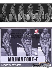 Hobby Design: Figure 1/24 scale - Mr. Han