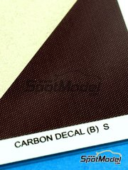 Hobby Design: Decals - Carbon decal - Small image