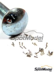 Hobby Design: Rivets - Rivet head 0.5mm - turned metal parts - 40 units
