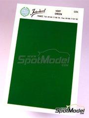Interdecal: Decals - 75 x 110 mm Green