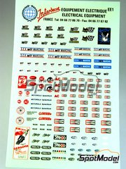 Interdecal: Decals - SEV, Champion, Magneti, Marchal, Steco, Prelyo, Gergovia, Motorola, Autolite, Gurtner, KLG, …