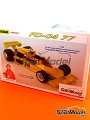 Iritani: Model car kit 1/20 scale - Fittipaldi FD-04 Copersucar #28 - Emerson Fittipaldi (BR) - World Championship 1977