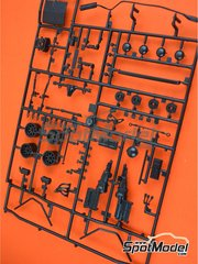 Italeri: Spare part 1/24 scale - Ford Escort Mk. II RS1800: Sprue A - plastic parts - for ESCI references 3009, 3021 and 3049, or Italeri reference 3655, or Revell reference REV07374