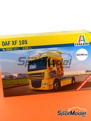 Italeri: Model truck kit 1/24 scale - DAF XF 105 - plastic model kit image
