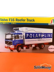 Italeri: Model truck kit 1/24 scale - Volvo F16 Polar Line - plastic model kit image
