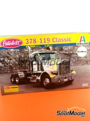 Italeri: Model truck kit 1/24 scale - Peterbilt 378-119 - plastic model kit image