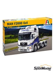 Italeri: Model truck kit 1/24 scale - MAN F2000 6x4 - plastic model kit