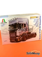 Italeri: Model truck kit 1/24 scale - Scania R730 V8 Streamline - plastic model kit