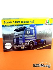 Italeri: Model truck kit 1/24 scale - Scania 143M Topline 4x2 ita28.5