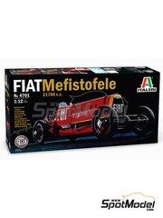 Italeri: Model car kit 1/12 scale - Fiat Mefistofele - World Landspeed Record 1924 - plastic model kit