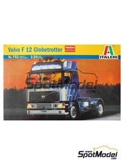 Italeri: Model truck kit 1/24 scale - Volvo F12 Globetrotter