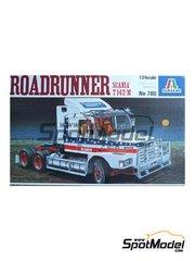 Italeri: Maqueta de camión escala 1/24 - Scania T142M Roadrunner