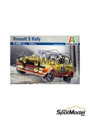 Italeri: Model car kit 1/24 scale - Renault 5 alpine