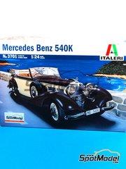 Italeri: Model car kit 1/24 scale - Mercedes Benz 540K