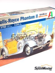 Italeri: Model car kit 1/24 scale - Rolls Royce Phantom II