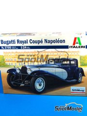 Italeri: Model car kit 1/24 scale - Bugatti Royale Napoleon