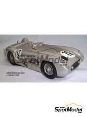 K&R Replicas: Model car kit 1/24 scale - Mercedes 300 SLR #19 - Juan Manuel Fangio (AR), Stirling Moss (GB) - 24 Hours Le Mans 1955