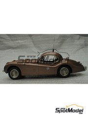 K&R Replicas: Model car kit 1/24 scale - Jaguar XK120 MONTLHERY