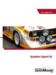 Komakai: Reference / walkaround book - Audi Quattro Sport S1