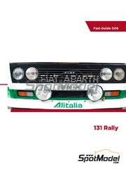 Komakai: Reference / walkaround book - Fiat 131 Abarth Rally