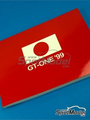 Komakai: Reference / walkaround book - Toyota TS020 GT-One 1999 - for Tamiya references TAM24222 and TAM24230 image