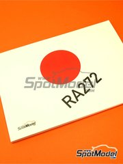 Komakai: Reference / walkaround book - Honda RA272 - 96 full colour A5 size pages - for Tamiya reference TAM20043 image