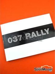 Komakai: Reference / walkaround book - Lancia 037 Rally