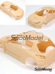 MM24 Models: Transkit 1/24 scale - Peugeot 206 S1600 Total #2 - Cédric Robert (FR) - Rally Du Var 2002 - resins - for Tamiya kit