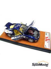 MR Collection: Diecast 1/43 scale - Ferrari 599 GTB Fiorano Panamerican 20.000 Blue Tour de France