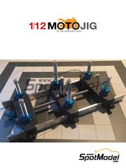 Marco Moto Design: Tools 1/12 scale - MotoJig 2017 Mk III advanced - metal parts and wooden parts
