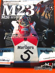 Model Factory Hiro: Reference / walkaround book - JOE HONDA Racing Pictorial Series - McLaren M23 M26